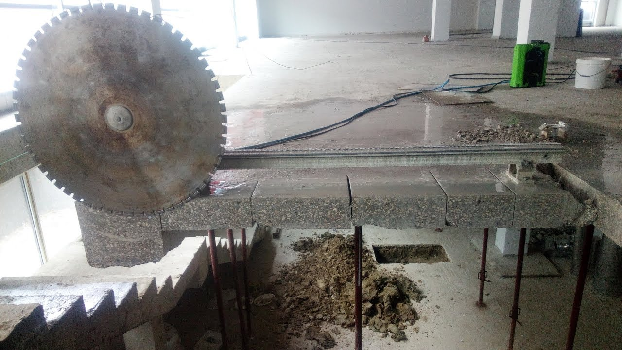 Технология алмазной резки бетона