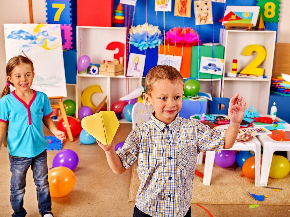 Лучшее пространство для детей – частные садики киева!